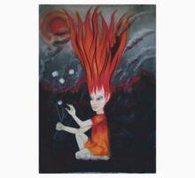 elemental children-fire One Piece - Long Sleeve