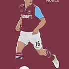 Mark Noble - West Ham United by 76kid