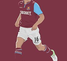 Mark Noble - West Ham United by 76kid