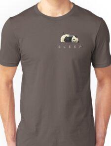 Geometric Panda Bear Unisex T-Shirt