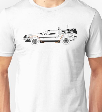 Delorean DMC Back to the Future Unisex T-Shirt