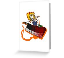 Little Psycho~~ Greeting Card