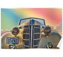 1937 Pontiac Poster