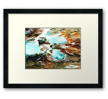Swirls Framed Print