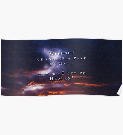 "Troye Sivan ""Heaven"" Inspired Design + Lyrics Poster"
