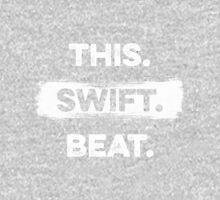 This. Swift. Beat. (White) Unisex T-Shirt