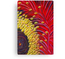 Perfect Pastels - Ooldea Mallee Flower Canvas Print