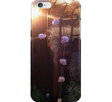 Halloween Skull Garland on a Birdcage iPhone Case/Skin