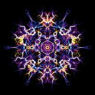 Creativity Quickening - Energetic Geometry Mystic Mandala. by Leah McNeir