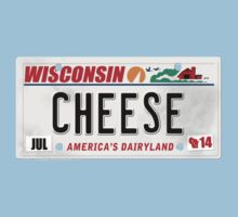 License Plate - CHEESE  Kids Clothes