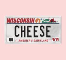License Plate - CHEESE  Kids Tee