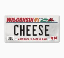License Plate - CHEESE  by TswizzleEG