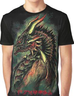 Dragonborn (Green Version) Graphic T-Shirt