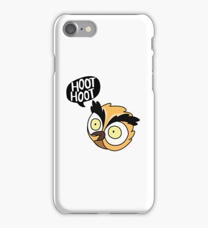 Hoot Hoot Owl iPhone Case/Skin