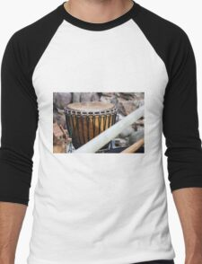drum and percussion Men's Baseball ¾ T-Shirt