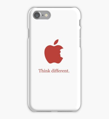 Think Different. Donald Trump Different. iPhone Case/Skin
