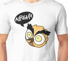 Alirght Owl Unisex T-Shirt