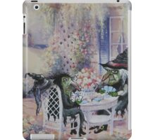 Afternoon Cards iPad Case/Skin