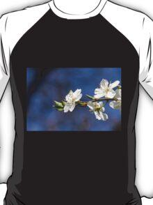 white flowers in spring T-Shirt