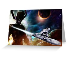 Sliver Surfer Greeting Card