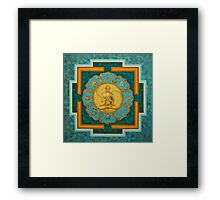 Buddha. Jewels of Dharma Framed Print