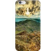 Looking east from Mt. McDonald iPhone Case/Skin