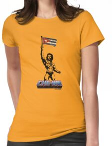 CHE-MAN Womens Fitted T-Shirt