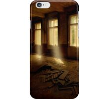 Light beams iPhone Case/Skin