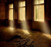 Light beams by JBlaminsky