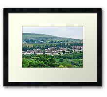 Welsh Miner's Cottages Framed Print