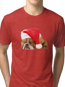 Christmas and idleness Tri-blend T-Shirt