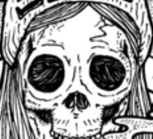 Violent Soho - Blazin Skull Sticker