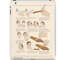 How to Shave iPad Case/Skin