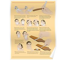 How to Shave Poster
