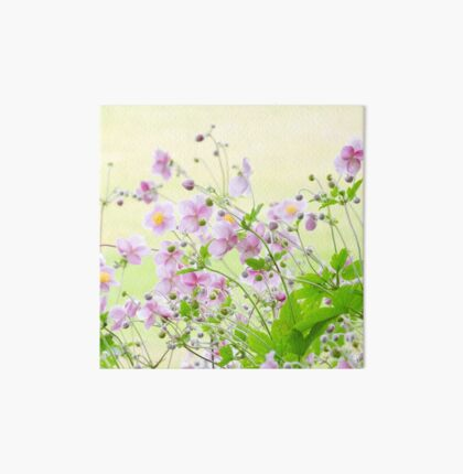 Japanese Anemone Art Board