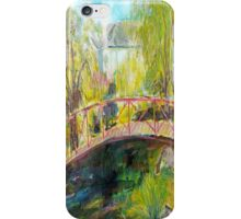 LANCEFIELD RAILWAY STATION AND NURSERY iPhone Case/Skin