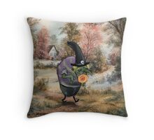 Sugary Stroll Throw Pillow