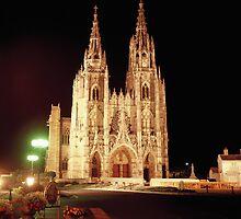 Notre Dame de L'Epine, Champgne, France. by John Morris