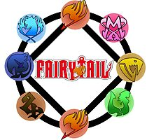 Fairy tail Guilds Grand Magic Games Photographic Print