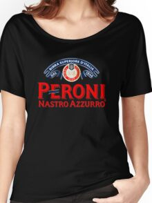 PERONI BEER NASTRO AZZURRO ITALIAN Women's Relaxed Fit T-Shirt