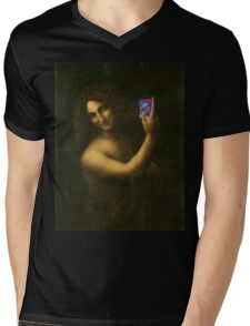 Carte piège Mens V-Neck T-Shirt