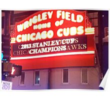 Chicago Blackhawks 2013 Stanley Cup Champions Poster