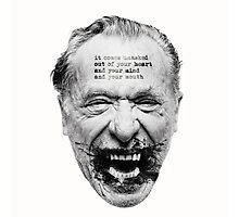 Bukowski 2 Photographic Print