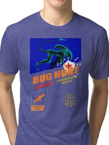 Aliens - Bug Hunt Tri-blend T-Shirt