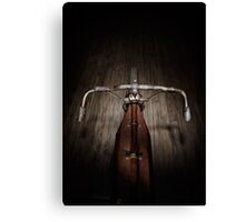 Indian Board Track Rider's View Canvas Print