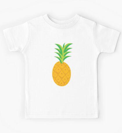 pineapple tropical fruit Kids Tee