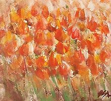Tulips by Jane See