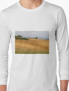 hilly landscape Long Sleeve T-Shirt