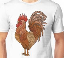 Graphic rooster  Unisex T-Shirt