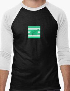 Paper Airplane 42 Men's Baseball ¾ T-Shirt